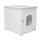 Zoovilla PTH0831720110 Kitty Litter Loo, White