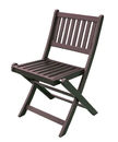 Northbeam TBS1020610812 Eucalyptus Folding Chairs (Set of 4)