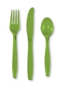 Creative Converting 013123 Fresh Lime Cutlery (Case of 288)