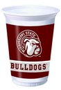 Creative Converting 014094 Mississippi State 20 Oz. Printed Plastic Cups (Case of 96)