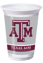 Creative Converting 014848 Texas A & M 20 Oz. Printed Plastic Cups (Case of 96)