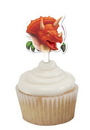Creative Converting 015012 Dino Blast Cupcake Topper (Case of 144)
