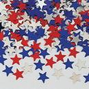 Creative Converting 02016 Stars Red/Blue/Silver Metallic Shaped Confetti (Case of 12)