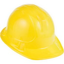 Creative Converting 021153 Under Construction Hard Hat, Yellow, CASE of 12