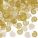 Creative Converting 021442 Décor Confetti Mimosa Swirls, CASE of 12