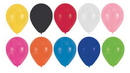 """Creative Converting 041316 Assorted Colors 12"""" Latex Balloons (Case of 180)"""