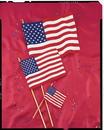 Creative Converting 04263B Cloth Flag, 4