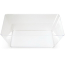 Creative Converting 053432 Clear TrendWare Large Square Bowl (Case of 6)