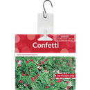 Creative Converting 062416 Décor Confetti, Holly & Berries, CASE of 12