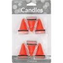 Creative Converting 105173 Décor Molded Candle Set Constr. Cones, CASE of 72
