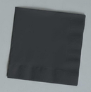 Creative Converting 139194154 Black Velvet Beverage Napkin, 2 Ply, Solid (Case of 600)