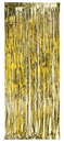 Creative Converting 141008 Gold Foil Door Curtain Gold, 8'X3', CASE of 6