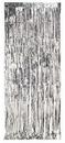 Creative Converting 141009 Door Fringe, Foil Silver, 8'X3' (Case of 6)