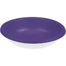 Creative Converting 173268 Purple Paper Bowls 20 Oz., CASE of 200