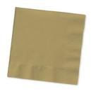 Creative Converting 253276 Glittering Gold Beverage Napkin, 2 Ply, Solid Bulk (Case of 1200)