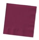 Creative Converting 273122 Burgundy Dinner Napkin, 2 Ply, 1/8 Fold Solid Bulk (Case of 600)