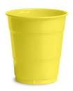 Creative Converting 28102071 Mimosa Plastic Cups, 12 Oz Solid (Case of 240)