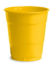 Creative Converting 28102171 School Bus Yellow Plastic Cups, 12 Oz Solid (Case of 240)