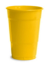 Creative Converting 28102181 School Bus Yellow Plastic Cups, 16 Oz Solid (Case of 240)