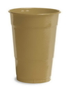 Creative Converting 28103081 Glittering Gold Plastic Cups, 16 Oz Solid (Case of 240)