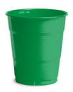 Creative Converting 28112071 Emerald Green Plastic Cups, 12 Oz Solid (Case of 240)