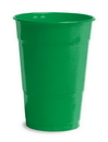 Creative Converting 28112081 Emerald Green Plastic Cups, 16 Oz Solid (Case of 240)