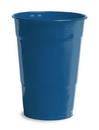 Creative Converting 28113781 Navy Plastic Cups, 16 Oz Solid (Case of 240)