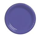 Creative Converting 28115031 Purple Banquet Plate, Plastic Solid (Case of 240)