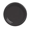 Creative Converting 28134031 Black Velvet Banquet Plate, Plastic Solid (Case of 240)