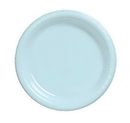 Creative Converting 28157031 Pastel Blue Banquet Plate, Plastic Solid (Case of 240)
