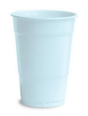 Creative Converting 28157081 Pastel Blue Plastic Cups, 16 Oz Solid (Case of 240)