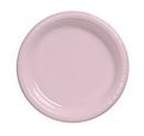 Creative Converting 28158031 Classic Pink Banquet Plate, Plastic Solid (Case of 240)