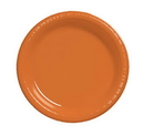 Creative Converting 28191031 Sunkissed Orange Banquet Plate, Plastic Solid (Case of 240)