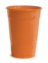Creative Converting 28191081 Sunkissed Orange Plastic Cups, 16 Oz Solid (Case of 240)