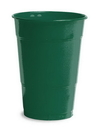 Creative Converting 28312481 Hunter Green Plastic Cups, 16 Oz Solid (Case of 240)