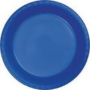 Creative Converting 28314711 Cobalt Prem Pl Luncheon Plates, CASE of 240