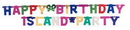 Creative Converting 29504 Jointed Banner Lg, Hpy B'Day, Multi (Case of 12)