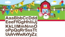 Creative Converting 295506 Farmhouse Fun Giant Party Banner w/ Stickers (Case of 6)