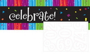 Creative Converting 295683 Milestone Celebrations Giant Party Banner with stickers (Case of 6)