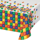 Creative Converting 315252 Block Party All Over Prt Pl Tablecover 54