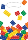 Creative Converting 315256 Block Party Loot Bag (Case Of 12)