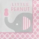 Creative Converting 316941 Little Peanut - Girl Luncheon Napkin, Little Peanut (Case Of 12)