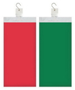 Creative Converting 317493 Décor 12Pc Clip Strip, Red/Green Tablecovers, CASE of 12