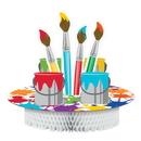 Creative Converting 317728 Art Party Centerpiece Hc Pop-Up (Case Of 6)