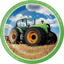 Creative Converting 318054 Tractor Time Dinner Plate, CASE of 96