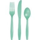 Creative Converting 318866 Fresh Mint Prem Cutlery Ast, CASE of 288