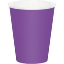 Creative Converting 318914 Amethyst Hot/Cold Cups 9 Oz., CASE of 240
