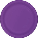 Creative Converting 318916 Amethyst Prem Pl Luncheon Plates, CASE of 240