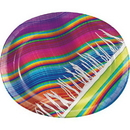 Creative Converting 322282 Serape Oval Platters, CASE of 96