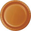 Creative Converting 323393 Pumpkin Spice Banquet Plate, CASE of 240